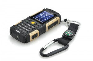 rugged phone gold ip67 waterproof