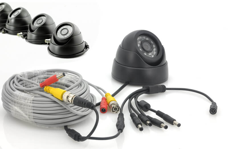 4 camera cctv security system with 500gb hdd