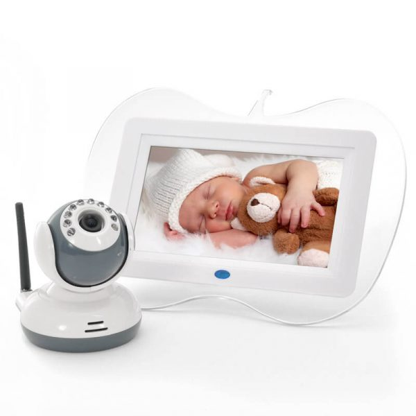 7 inch 2 4ghz digital wireless baby monitor