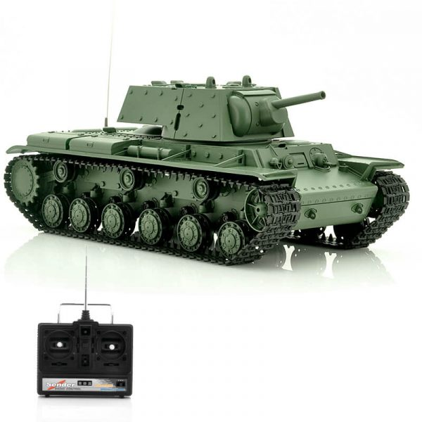 airsoft rc tank russia kv 1 with rotating turret