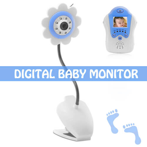 baby monitor night vision av out flower design