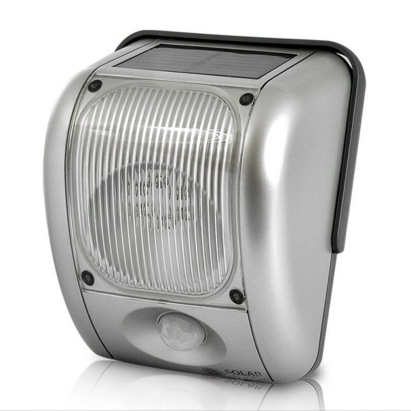 cctv solar powered security light motion detection 200 lumen