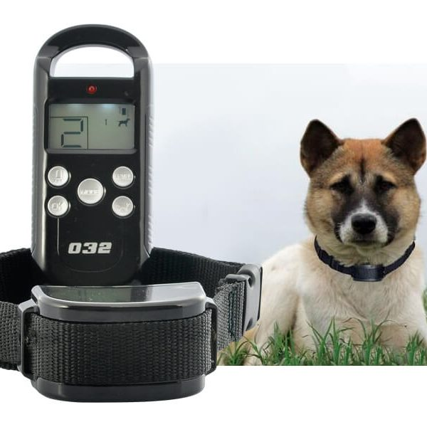 dog training collar with vibration shock function 4 shock