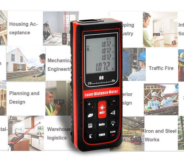 hand held laser distance meter 0 05 80 meters