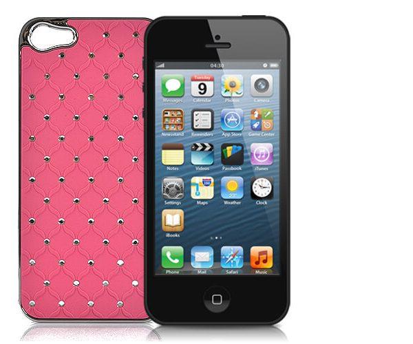 iphone 5 case pink rhinestone