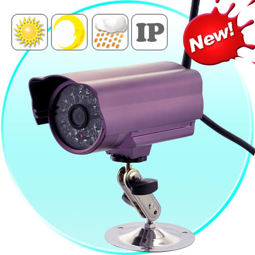 outdoor ip camera with microsd recording night vision