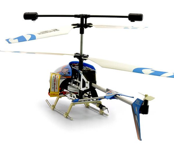 rc helicopter 3 channels gyro leds