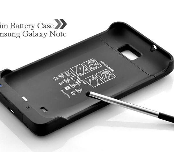slim battery case for samsung galaxy note 3500mah black