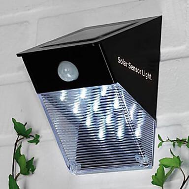 solar power led sensor light