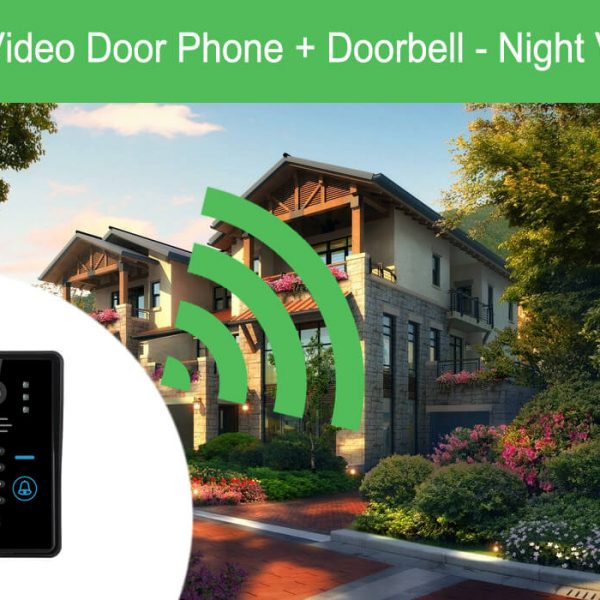 wi fi video door phone doorbell night vision