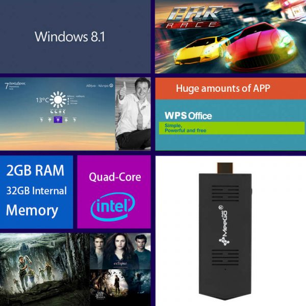 windows 10 mini pc stick intel atom quad core cpu 2gb ram