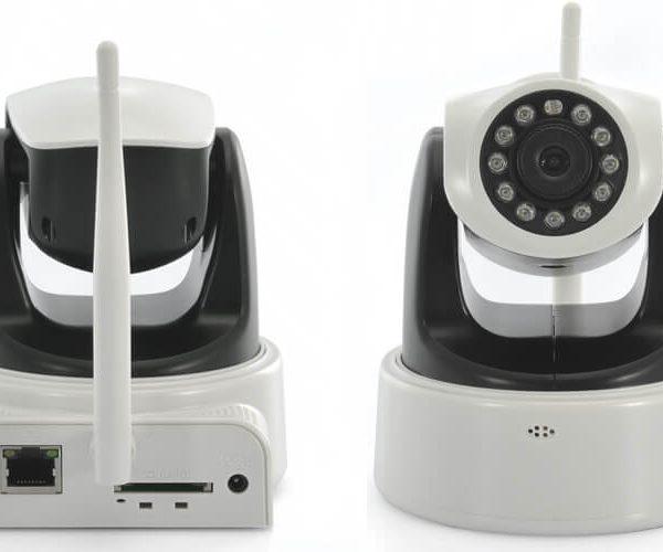 wireless ip security camera pan tilt