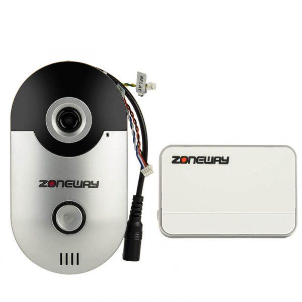 wireless video door bell intercom two way audio
