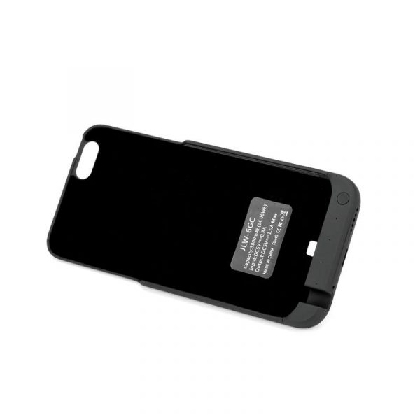 iphone 6.6s external battery case with 3800mah battery