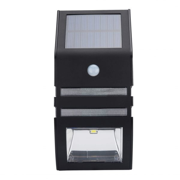 outdoor solar powered led security light