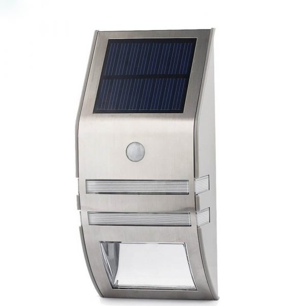 outdoor solar powered led security light 50 lumens