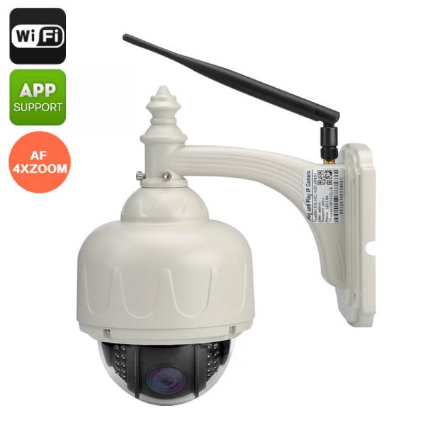 wireless waterproof ptz ip camera 720p wi fi android