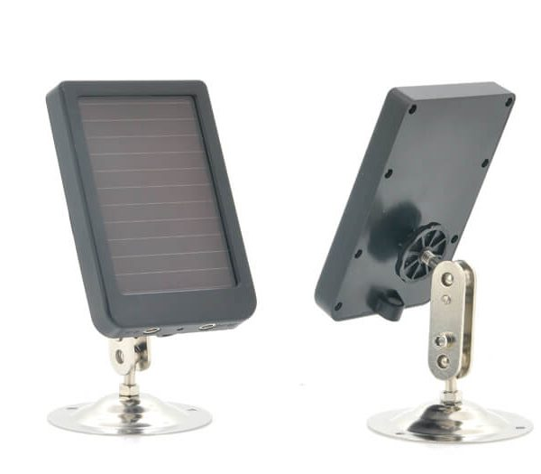 game camera rechargeable battery solar panel 1080p