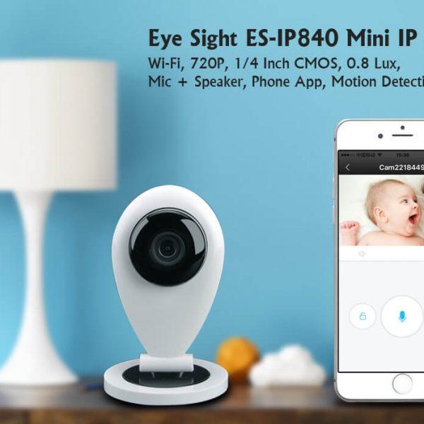 mini ip camera wi fi 720p 0.8 lux mic speaker phone