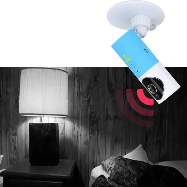 wi fi baby monitor motion detection night vision sd card recording