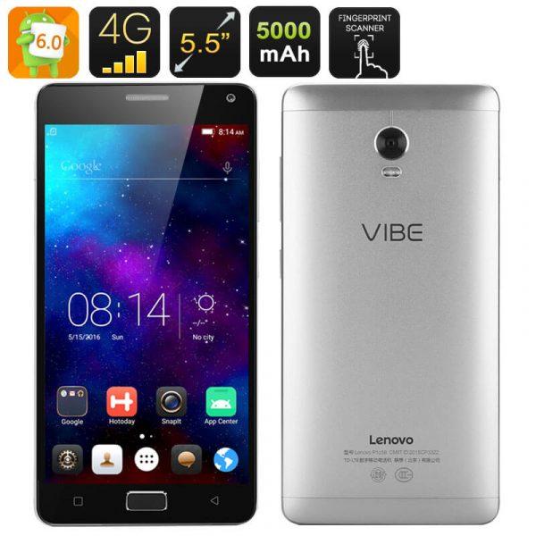 lenovo vibe p1 smartphone android 6.0 snapdragon 615 octa core