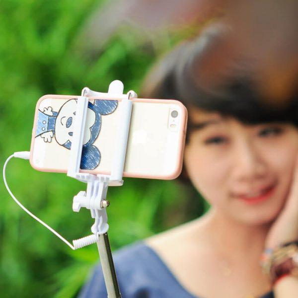 selfie stick ios android smartphones 21 77cm 6cm 9.5cm