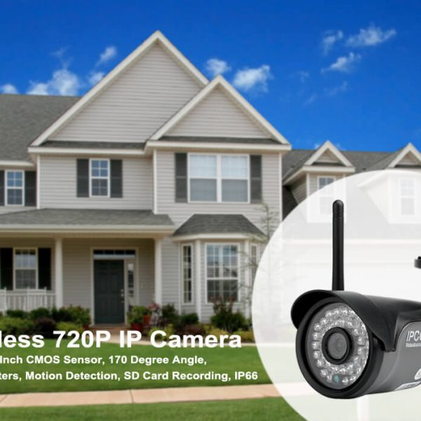 wireless 720p ip camera 70 degree angle mobile phone