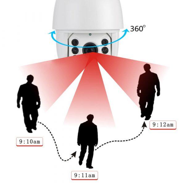 auto tracking ptz dome camera