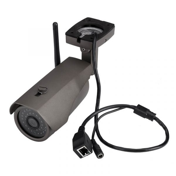 cctv nvr kit four 720p cameras 15m night vision