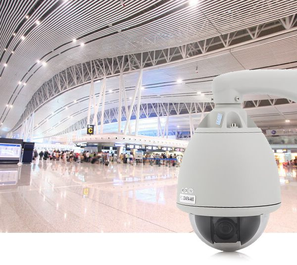 18x zoom outdoor weatherproof speed dome camera