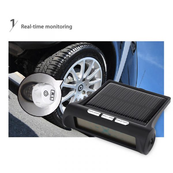 car tyre pressure monitoring system solar