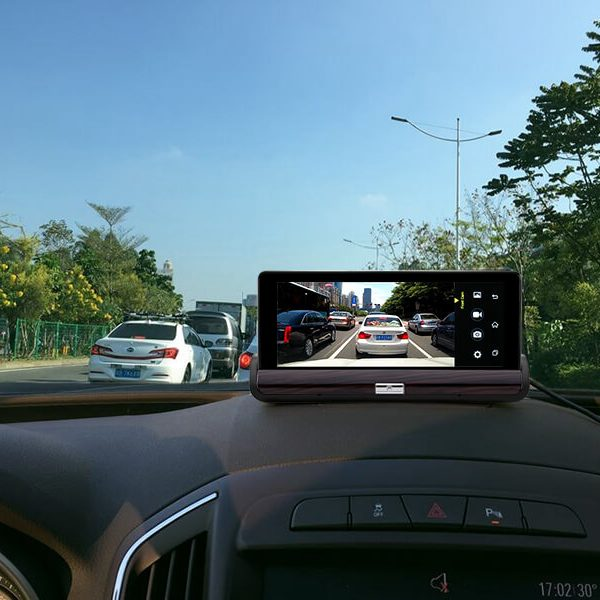 android car dvr system 6.8 inch touch screen