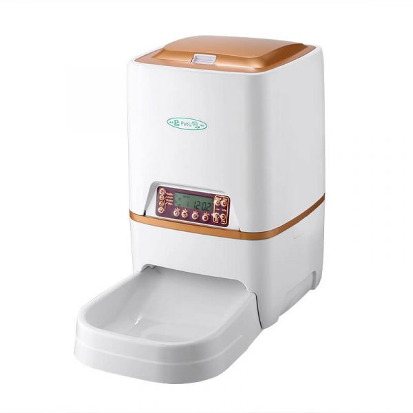 automatic pet feeder dry