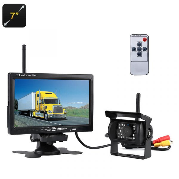 rearview parking camera 7 inch