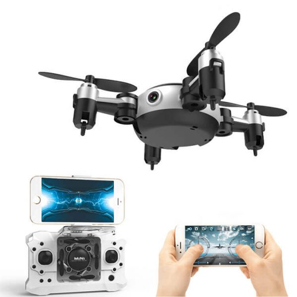 mini camera drone led lights 8ms flight speed