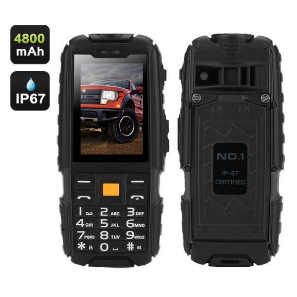 rugged builders phone dual imei dust proof