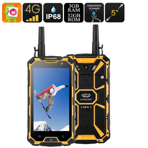 32gb rugged smartphone octa core cpu 3gb ram