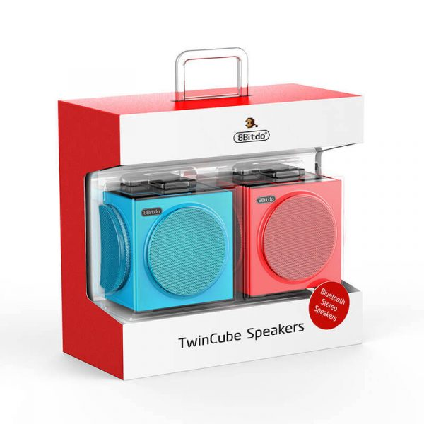 8bitdo twin cube stereo speakers bluetooth