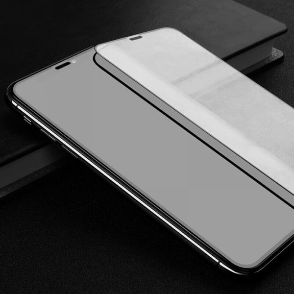 iphone x screen protector 2pcs anti fingerprint bubble free shatter proof scratch resistant dust proof high transparency
