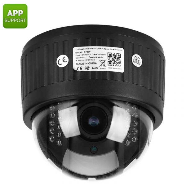ptz security camera 13 inch cmos 1080p 5x zoom auto focus lens 20m night vision ir cut app support