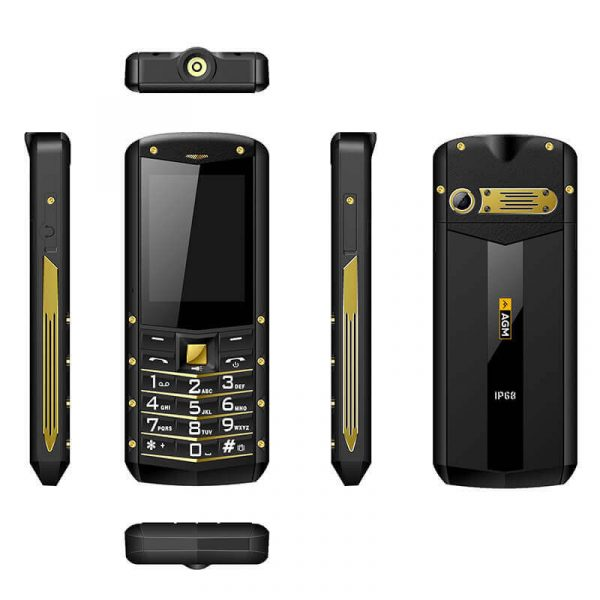 rugged builders phone ip68 rating long life 1970mah battery