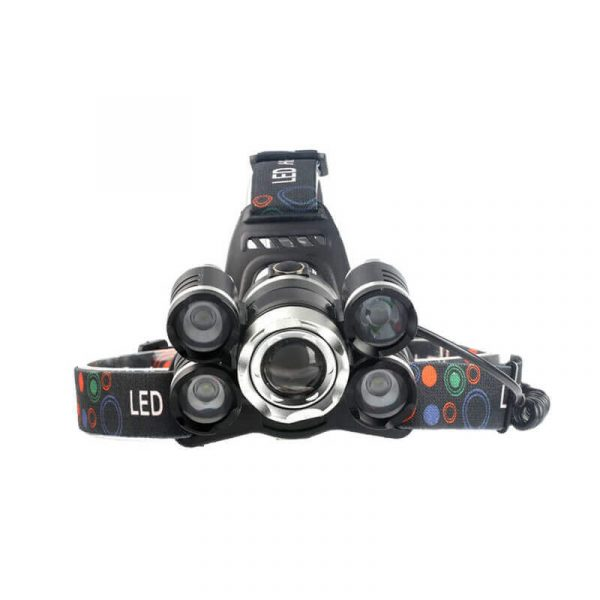 cree t6 led headlamp 2800 lumen 3 cree leds 5light modes