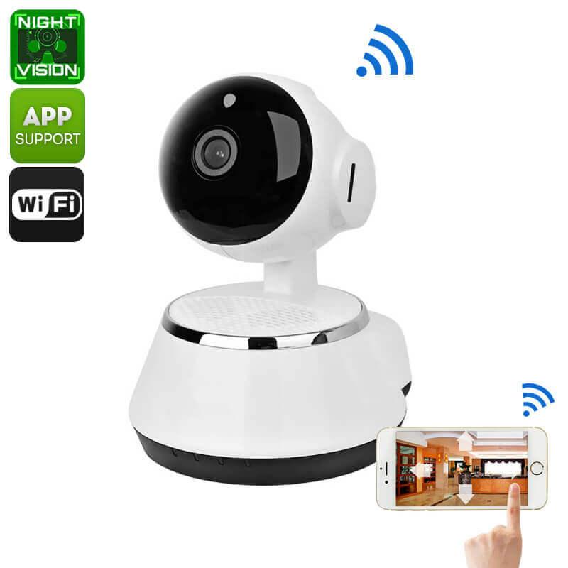 wireless ip camera hd cmos 720p sd card recording
