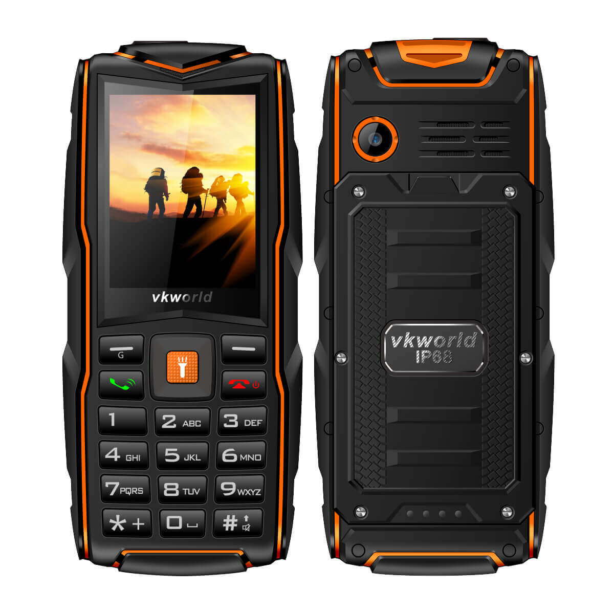 V3 Rugged Mobile Phone Multifunction